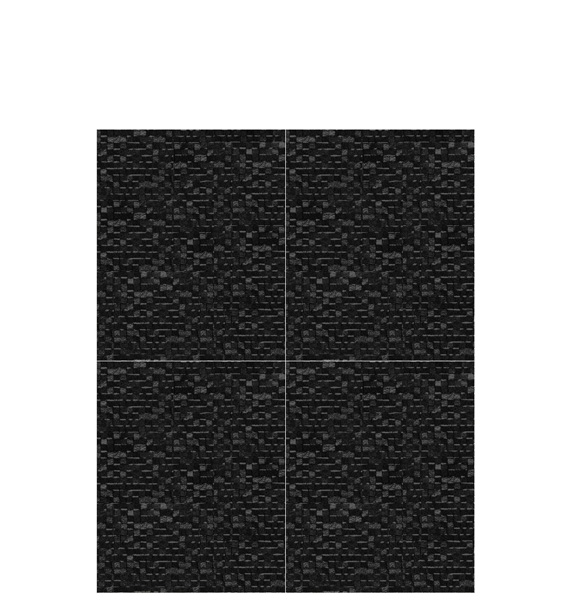 Porcelanosa Cubica Negro Tile